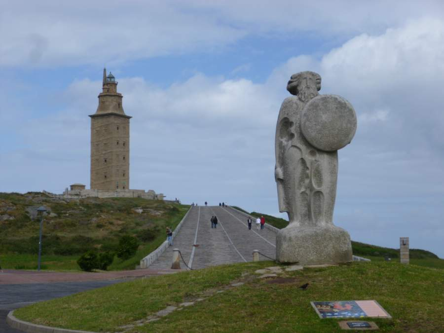 A Coruna Tower of Hercules