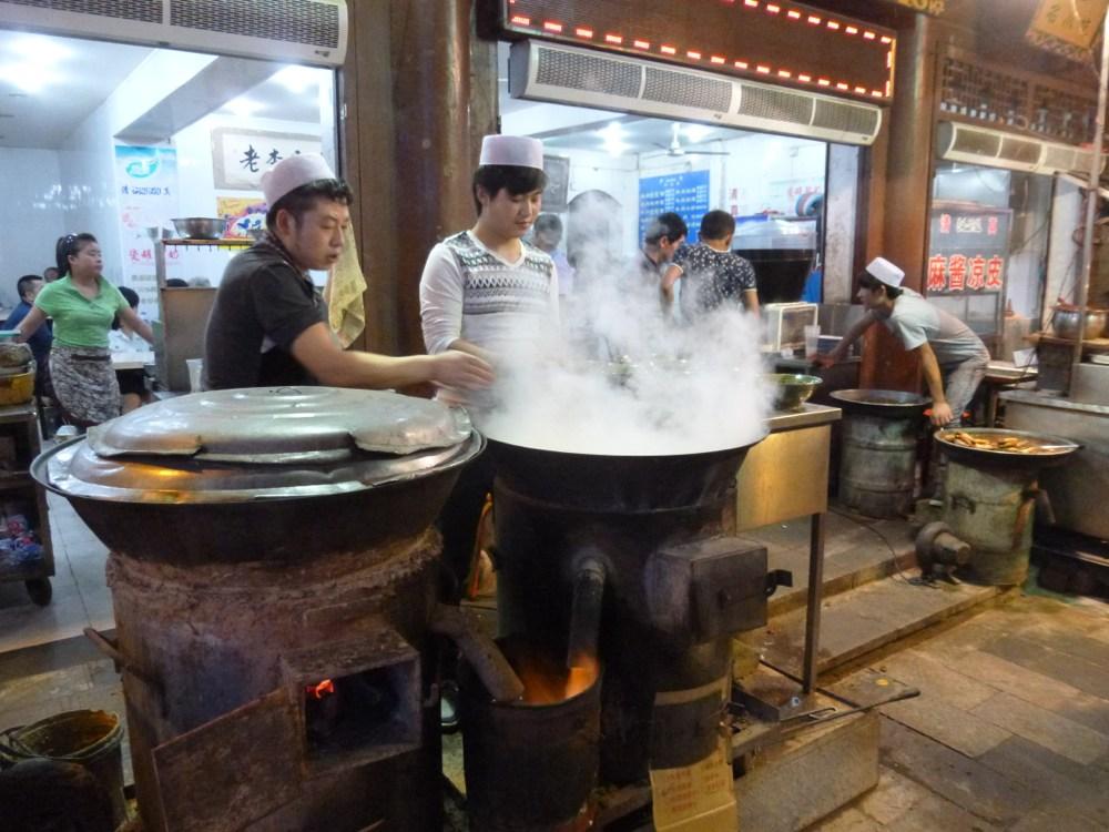 Muslim Street - Cooking