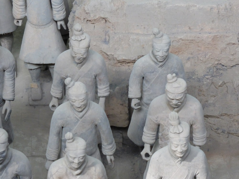 Terracotta Warriors Detail