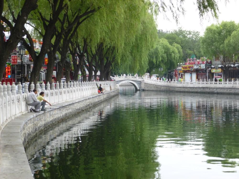 The Lovely Lake Area of Beijing