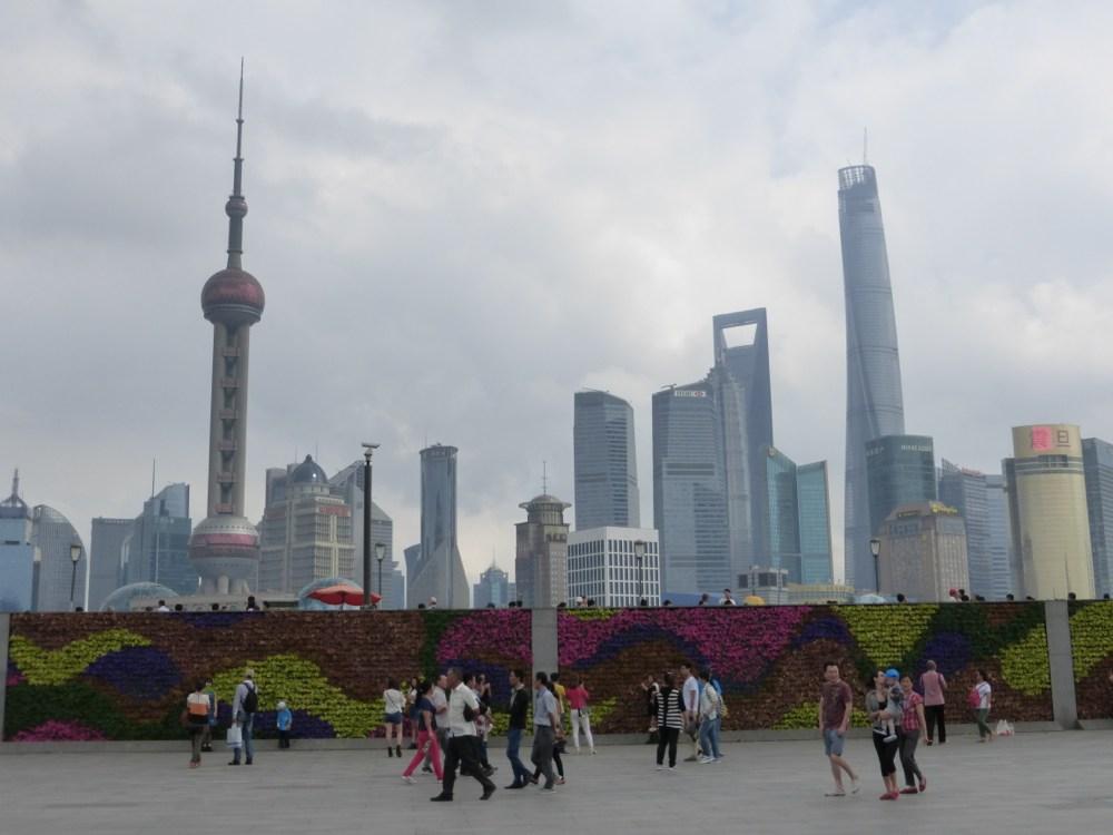 Pudong Skyline (Daytime)