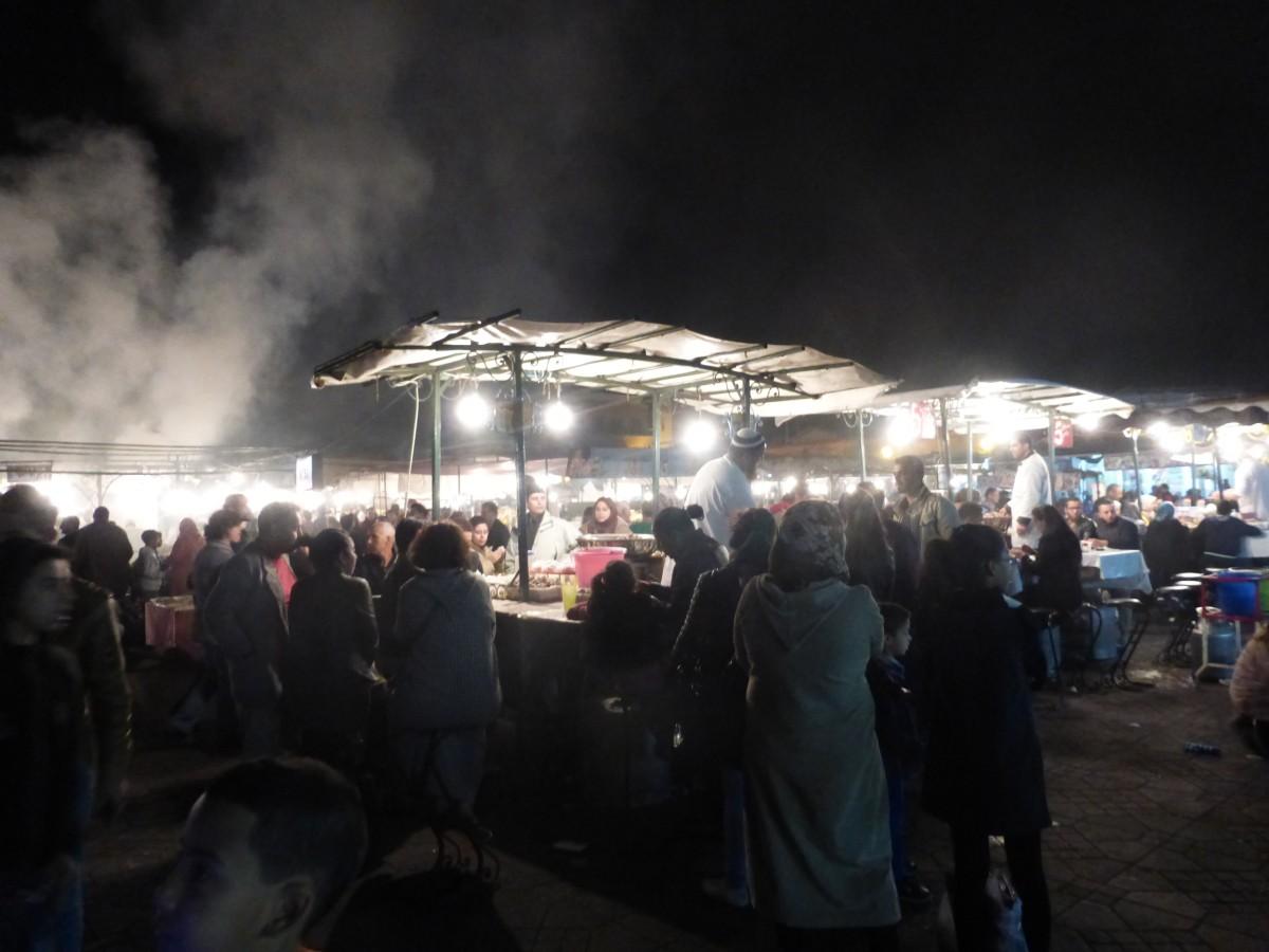 Marrakech-Jmaa-El-Fna-Square